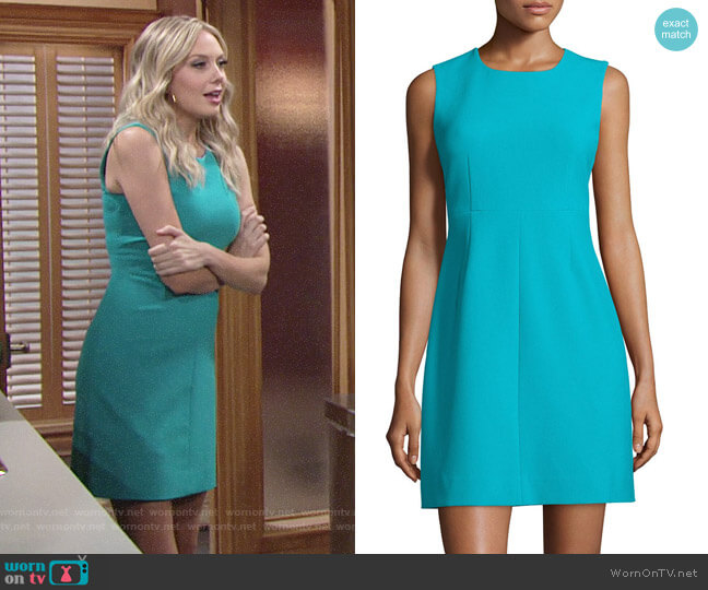 Diane von Furstenberg Carrie Dress worn by Melissa Ordway on The Young & the Restless