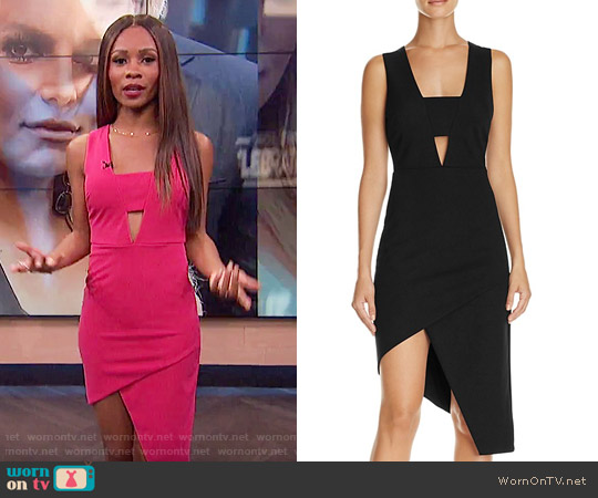 Do and Be Cutout Asymmetric Midi Dress worn by Zuri Hall  on E! News
