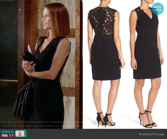 Elie Tahari Benita Dress worn by Laura Leighton on PLL