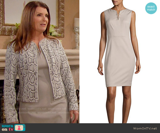 Elie Tahari Natanya Dress worn by Sheila Carter on The Bold & the Beautiful