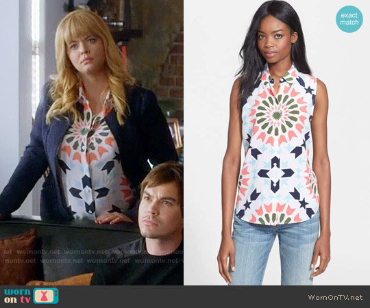 Equipment Colleen Shirt worn by Alison DiLaurentis (Sasha Pieterse) on PLL