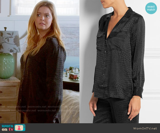 Equipment Daniela Pajamas worn by Sasha Pieterse on PLL