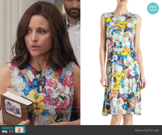 Erdem Brennon Dress worn by Selina Meyer (Julia Louis-Dreyfus) on Veep