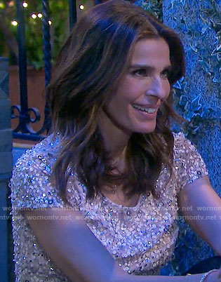 Hope's sequin top on Days of our Lives