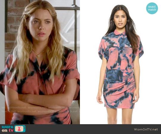 IRO Oceane Shirtdress worn by Hanna Marin (Ashley Benson) on PLL
