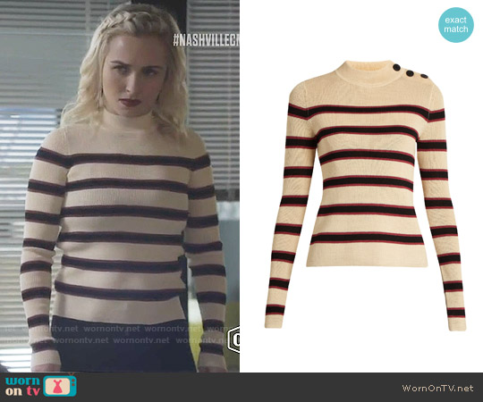 Isabel Marant Devona Sweater worn by Hayden Panettiere on Nashville