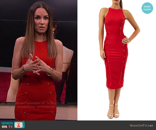 Kalayci Rena Dress worn by Catt Sadler  on E! News