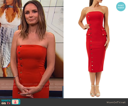 Kalaycii Sienna Dress worn by Catt Sadler on E! News