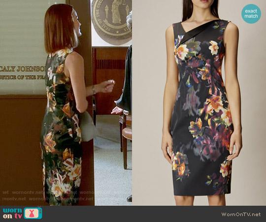 Karen Millen Orchid Dress worn by Ashley Marin (Laura Leighton) on PLL