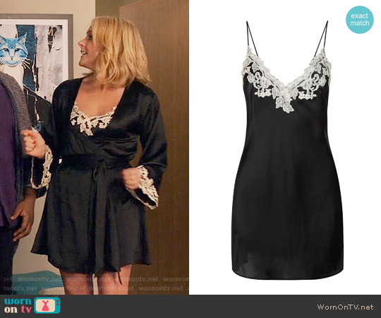 La Perla Maison Slip worn by Jacqueline Voorhees (Jane Krakowski) on Unbreakable Kimmy Schmidt