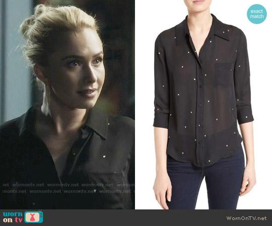 L'Agence Ryan Star Print Blouse worn by Juliette Barnes (Hayden Panettiere) on Nashville