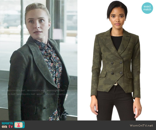 Laveer Kadette Camo Blazer worn by Juliette Barnes on Nashville