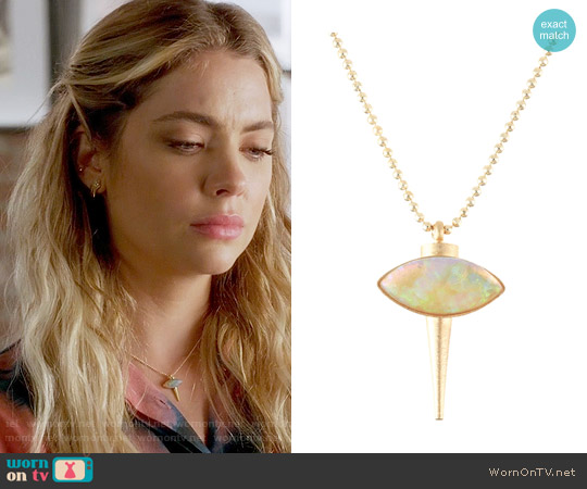 Lionette NY Minca Necklace worn by Hanna Marin on PLL