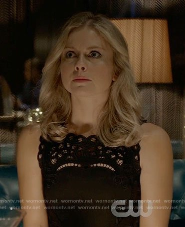 Liv's black lace dress on iZombie