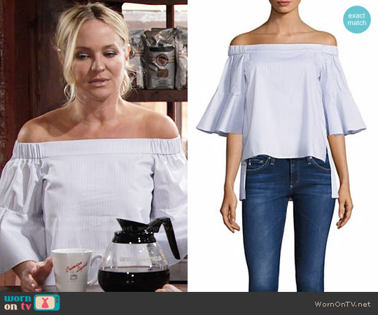 Prose & Poetry Shane Top worn by Sharon Case on The Young & the Restless