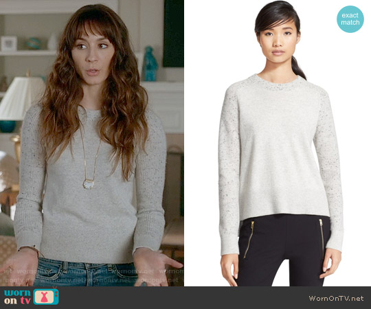 Rag & Bone Catherine Sweater worn by Troian Bellisario on PLL