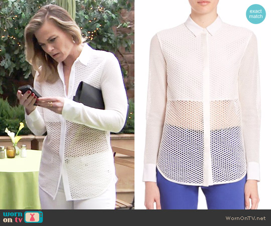 Rag & Bone Luna Top worn by Gina Tognoni on The Young & the Restless