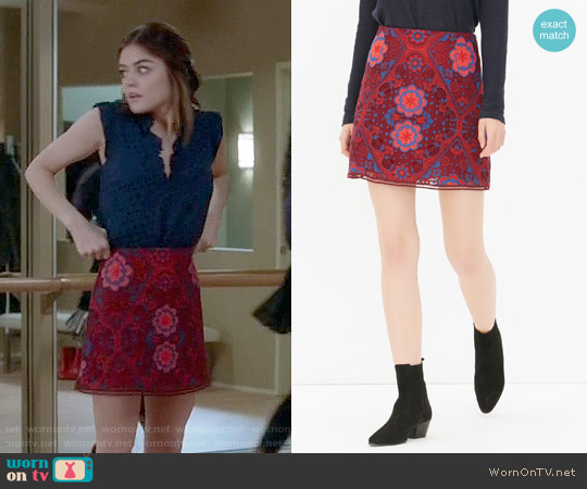 Sandry Lily Skirt worn by Aria Montgomery on PLL