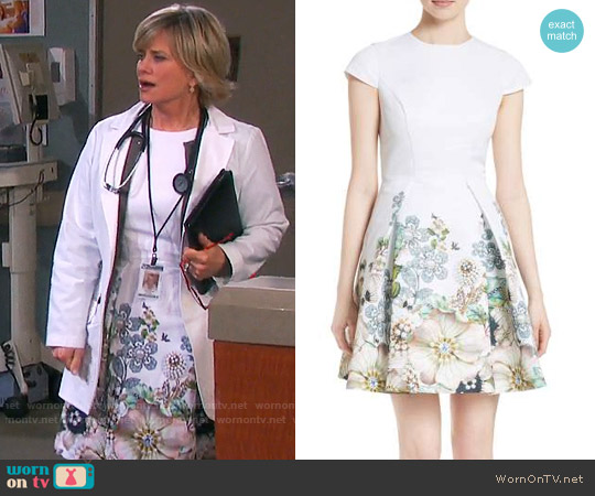 Ted Baker Yvetta Dress worn by Mary Beth Evans on Days of our Lives