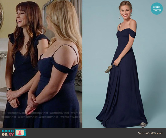 The Reformation Poppy Dress worn by Sasha Pieterse on PLL