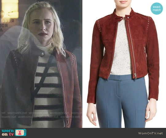 Theory Bavewick Jacket worn by Juliette Barnes on Nashville