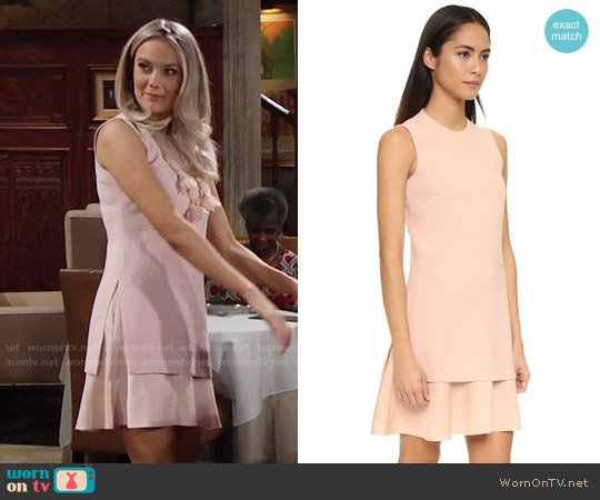 Theory Malkan Dress worn by Abby Newman (Melissa Ordway) on The Young & the Restless