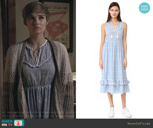 Ulla Johnson Maelle Dress worn by Clare Bowen on Nashville