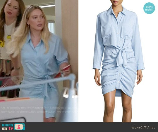 Veronica Beard Sierra Dress worn by Hilary Duff on Younger