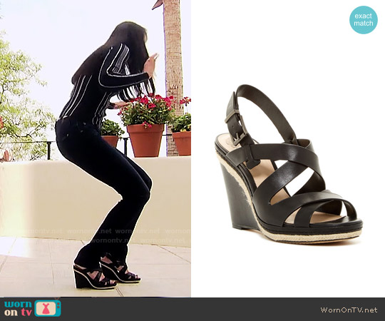 Vince Camuto Maben Wedge worn by Quinn Fuller on The Bold & the Beautiful