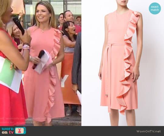 Lavinia Dress by Altuzarra worn by Savannah Guthrie on Today