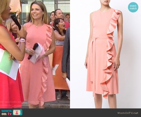 Altuzarra Lavinia Dress worn by Savannah Guthrie (Savannah Guthrie) on Today