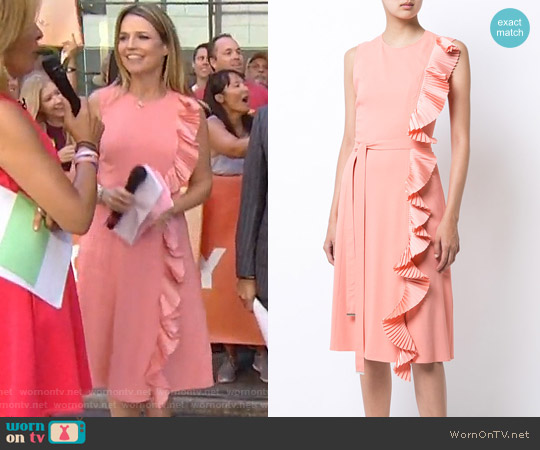 Altuzarra Lavinia Dress worn by Savannah Guthrie on Today