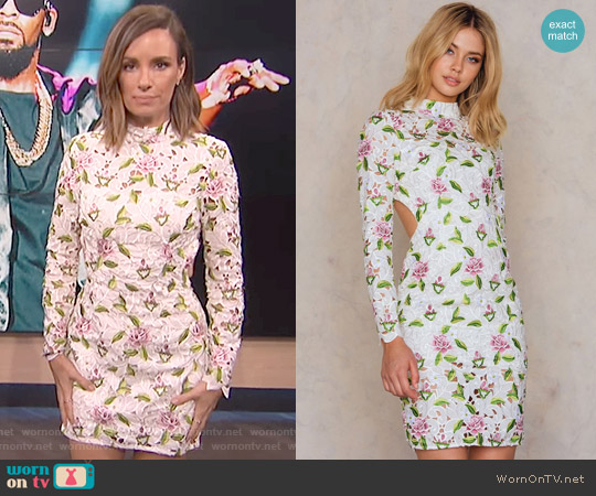 Object Of Desire Dress by Asilio worn by Catt Sadler on E! News