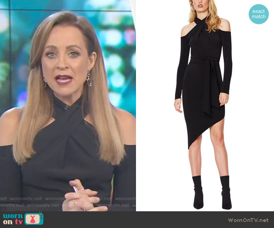 Vixen Dress by Bec & Bridge worn by Carrie Bickmore (Carrie Bickmore) on The Project