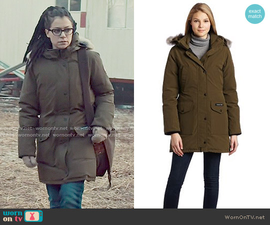 Trillium Parka by Canada Goose worn by Tatiana Maslany on Orphan Black