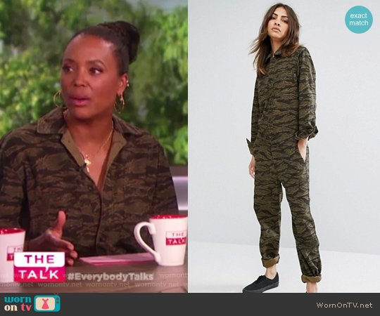 WIP Relaxed Boiler Suit Coverall by Carhartt worn by Aisha Tyler  on The Talk