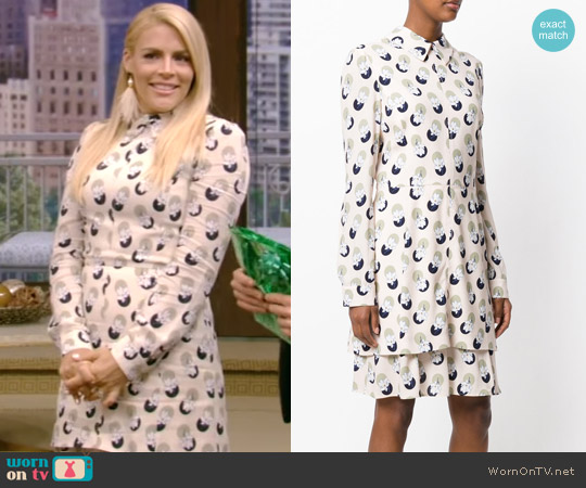 Floral Print Dress by Carven worn by Busy Phillips on Live with Kelly