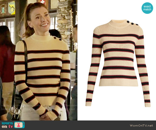 Isabel Marant Devona Sweater worn by Liza Miller (Sutton Foster) on Younger