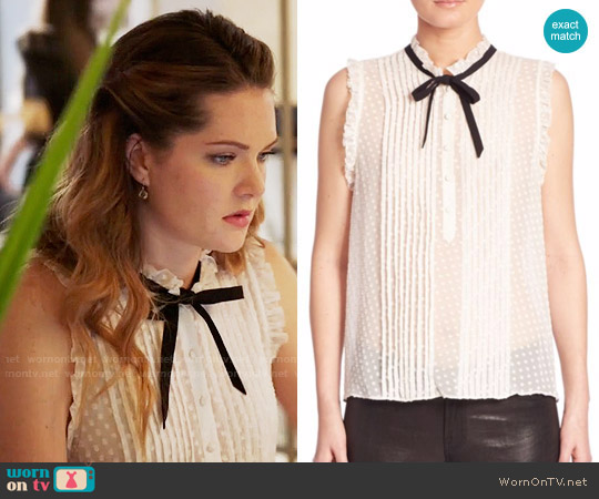 Joie Toledo Top worn by Sutton (Meghann Fahy) on The Bold Type