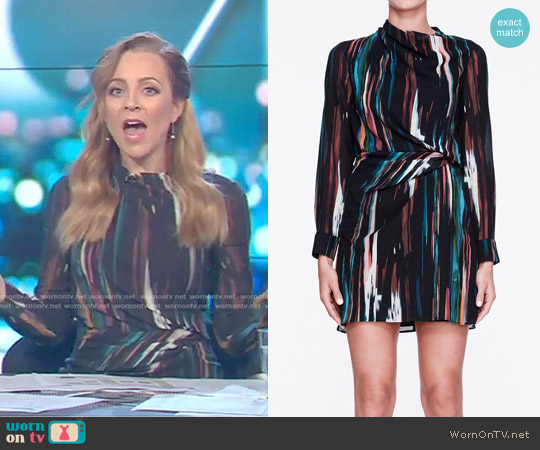 Kitty Hawk Dress by Life with Bird worn by Carrie Bickmore  on The Project