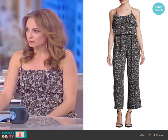 Ruffle Accented Jumpsuit by Michael Kors worn by Jedediah Bila on The View