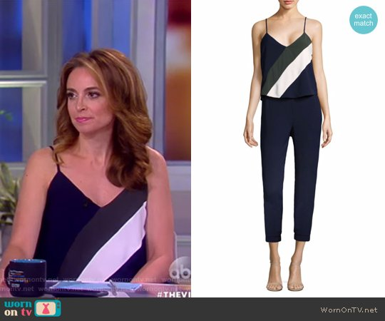 Frida Combo Jumpsuit by Parker worn by Jedediah Bila  on The View