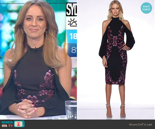 Eminence Midi by Pasduchas worn by Carrie Bickmore on The Project