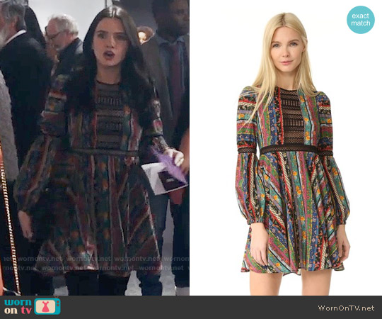 Philosophy di Lorenzo Serafini Sleeved Dress worn by Katie Stevens on The Bold Type