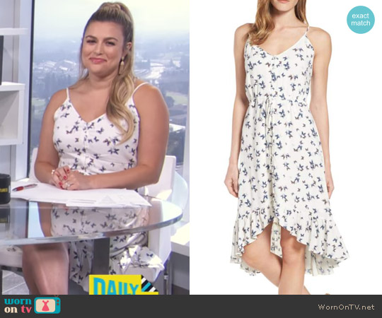 Frida Dress by Rails worn by Carissa Loethen Culiner on E! News