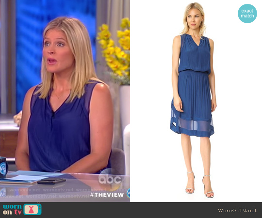 Quinn Dress by Ramy Brook worn by Sara Haines on The View