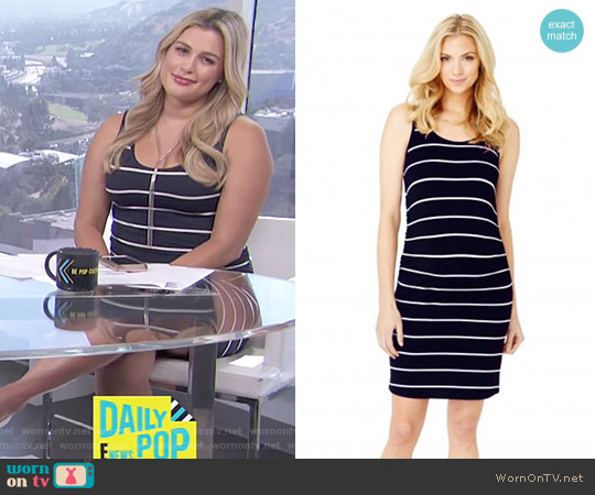 Kimberly Cinched Dress by Rosie Pope worn by Carissa Loethen Culiner  on E! News