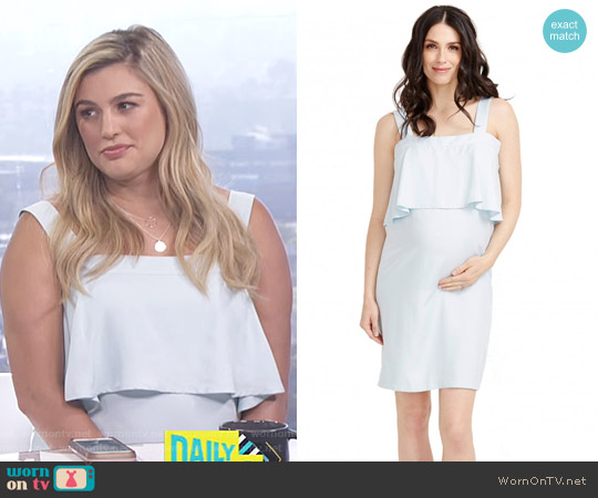'Mia' Dress by Rosie Pope worn by Carissa Loethen Culiner on E! News