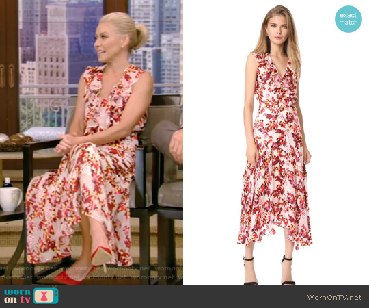 Saloni Rita Dress worn by Kelly Ripa (Kelly Ripa) on Live with Kelly & Ryan
