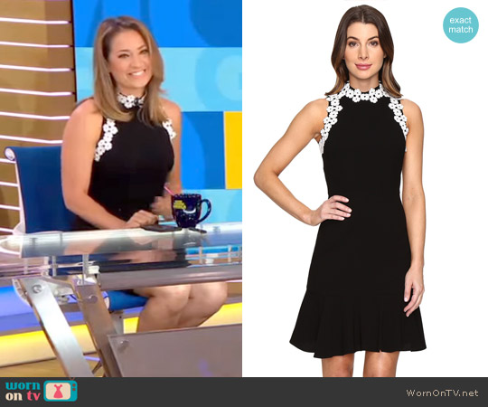 York Dress by Shoshanna worn by Ginger Zee  on Good Morning America